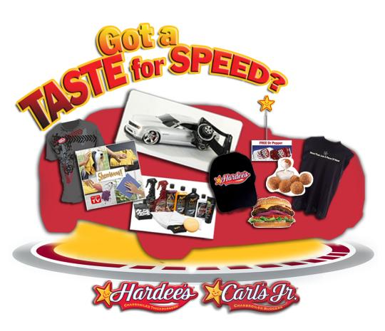 2010 Camaro Hardee's Dr Pepper Prize Giveaway