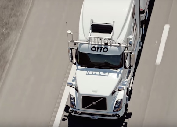 Otto autonomous truck conversion kit