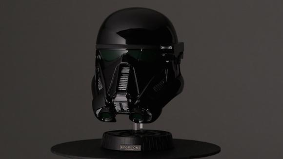 full-size replica collectible Death Trooper helmet