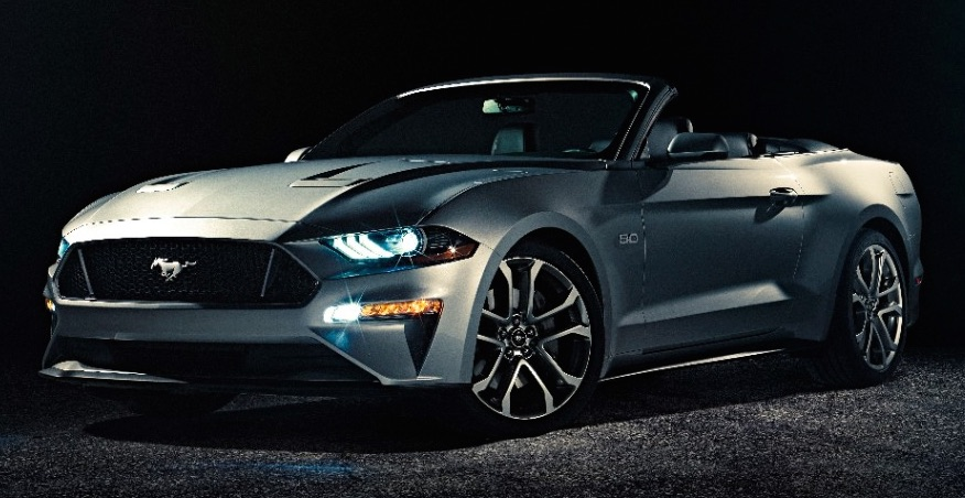 2018 Ford Mustang Convertible A